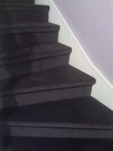 escalier renové par Decopeint